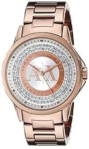 Armani Exchange Lady Banks Analog Rose Gold Dial Women's Watch - AX4322