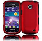 Samsung illusion I110 Samsung Galaxy Proclaim S720C Rubberized Cover - Red