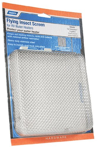 Camco 42151 Flying Insect Water Heater Screen - WH 400 (Rv Insect Covers compare prices)