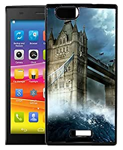 FCS Printed 2D Designer Hard Back Case For Micromax Canvas Nitro 2 E311 Design-10484