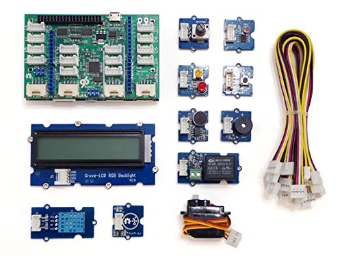 Seeedstudio Grove Starter Kit for 96Boards, Arduino compatible, Sensors (Grove Starter Kit compare prices)