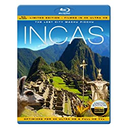 INCAS - The Lost City Machu Picchu [Blu-ray]