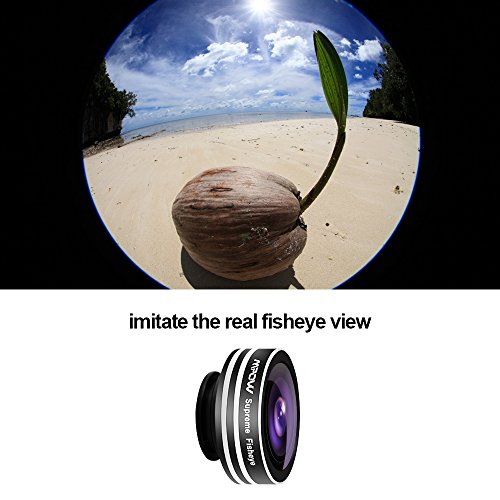 Mpow-3-in-1-Clip-On-180-Degree-Supreme-Fisheye-Lens-067X-Wide-Angle-Lens-10X-Macro-Lens-kit-for-iPhone-6-6s6Plus-iOS-Android-Smartphones