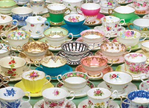 Cheap Outset Media Tea Cups (1,000 Piece Puzzle) (B004UBM6QG)