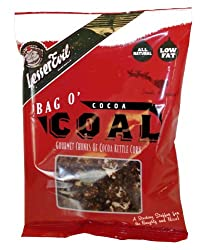 LesserEvil Cocoa Coal Kettle Corn, 1.75-Ounce Holiday Boxes (Pack of 24)