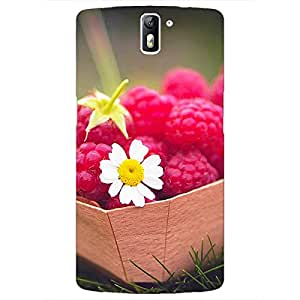 Jugaaduu Berry Love Back Cover Case For OnePlus One