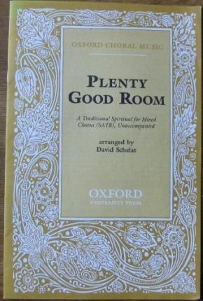 plenty-good-room-vocal-score-author-david-schelat-published-on-july-2001