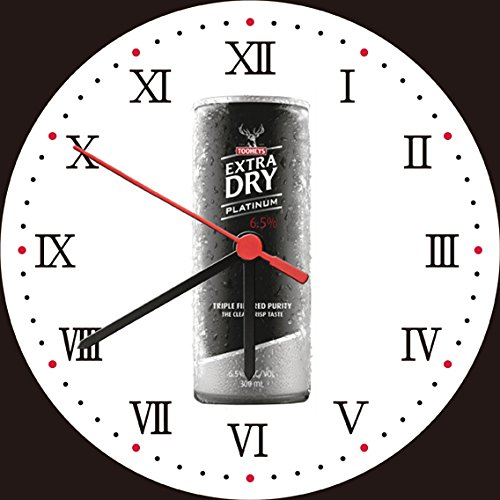 tooheys-extra-dry-platinum-beer-can-wall-clock