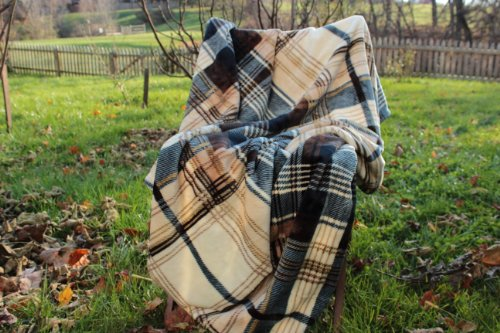 Tache Tartan Plaid Super Soft Winter Cabin Throw