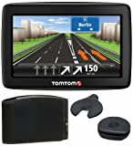 TomTom Start 25 Central Europe Traffic Comfort Edition Navigation System / 13 cm (5-Inch) Display / TMC (Traffic Management Channel) / IQ Routes / Card Slot / Map Data for 19 European Countries