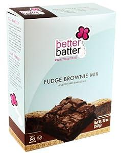 Better Batter Gluten Free Fudge Brownie Mix, 20 oz. (FFP)