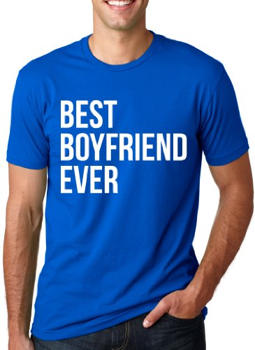 Best Boyfriend Ever T Shirt Funny Dating Shirt I Love My Boyfriend Tee L