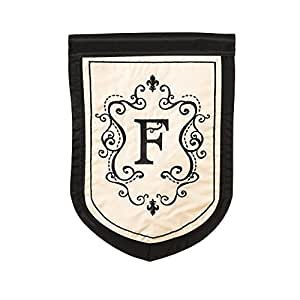 Amazon.com : Monogram Garden Flag Letter: F : Outdoor Flags : Patio
