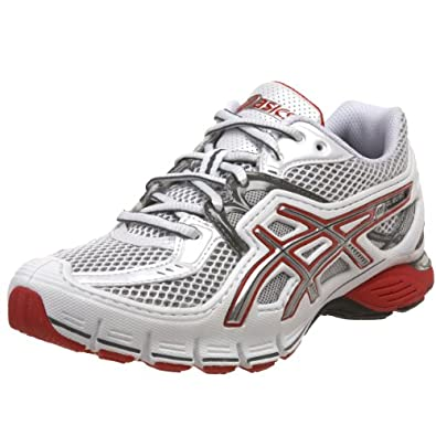 ASICS Women's GEL-SD-Lyte Running Shoe,White/Lightning/Lipstic,6 M