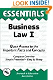 Business Law I Essentials (Essentials Study Guides)