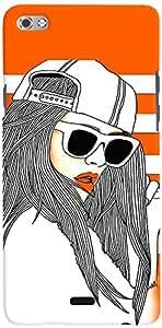 PRINTVISA Girly Fashion Cool Mobile Case Cover for Micromax Canvas Sliver 5 Q450 (Multicolour)