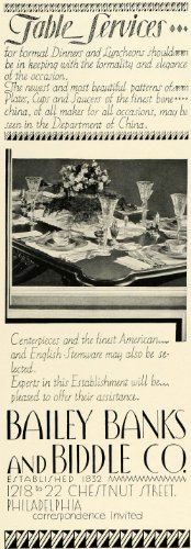 1930-ad-bailey-banks-biddle-fine-china-english-stemware-decorative-dishes-glass-original-print-ad