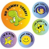 Giving up dummy Reward Stickers
