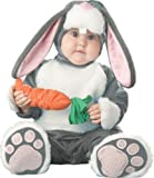 Lil Characters Infant Bunny Costume, Dark Grey/White/Pink