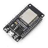 Xiuxin ESP32 Development Board 2.4GHz Dual-Mode WiFi + Bluetooth Dual Cores ESP32s Antenna Module Board (1 pc) (Color: 1pack, Tamaño: 1 pc)