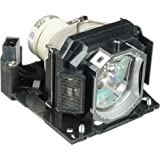 DT01191 - Lamp With Housing For Hitachi CP-X11WN, CP-X11WN, CP-X2021, CP-X2021WN , CP-X2521 , CP-X2521WN , CP-X3021WN , HCP-U25S , HCP-U26W , HCP-U27N , HCP-U27P , HCP-U32N, HCP-U32P