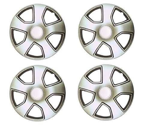 44% OFF on Autopearl Premium Quality Car Full Caps Silver 17inches Wheel Cover For - Mahindra XUV 500 on Amazon | PaisaWapas.com