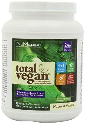 NuMedica - Total Vegan Vanilla 14 Servings