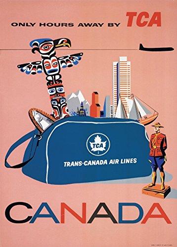 millesime-voyage-au-canada-lignes-aeriennes-trans-canada-sur-format-a3-papiers-brillants-de-250g-aff