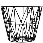 Ferm Living - Wire Basket Small - Noir
