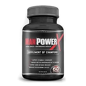 Manpowerx herbal male enhancement pills & male libido booster