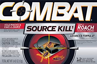 Dial Professional 41910 Combat Regular Bait, Source Kill, Small Roach, Open 12 Count (12 Packs of 12)