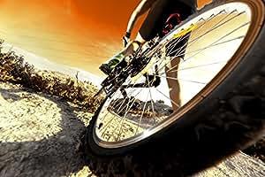 Amazon.com - Wallmonkeys WM58807 Deportes Bicicleta De Montaña Y