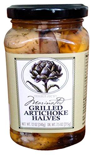 Trader Joe's Marinated Grilled Artichoke Halves (Grilled Artichoke Hearts compare prices)