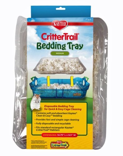 Kaytee-CritterTrail-Habitat-Disposable-Bedding-Tray-3-Count