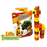 Giraffe Brick Clicks 31pcs 3 In1 Unlimited Creativity Fun Educational Play Toys Building Blocks Set For Boys And...