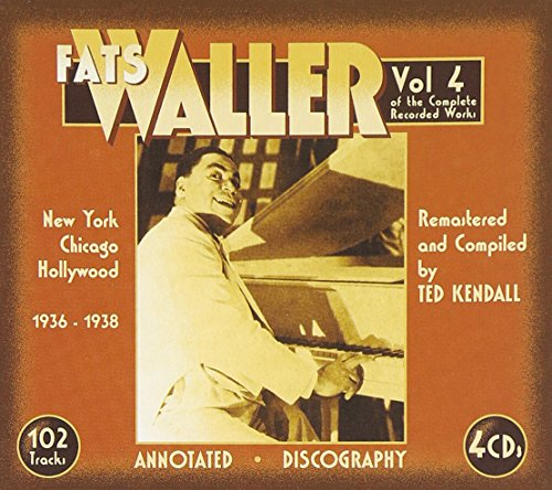Fats Waller - The Complete Recorded Works 1936-38, Vol. 4 - Zortam Music