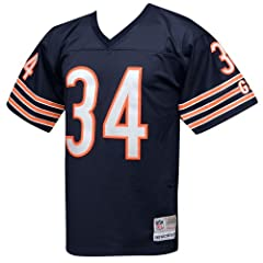 Chicago Bears Walter Payton Premier Throwback Mitchell Ness Replica 7354A Jersey by Mitchell & Ness