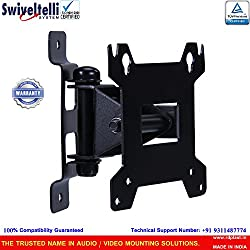 Swiveltelli LCD/LED TV Wall Mount Upto 22 Inch With Easy Swivel & Tilt