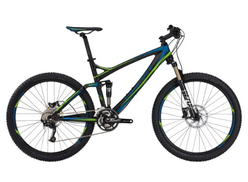 Ghost Herren MTB Fullies RT Actinum 5900 black blue green