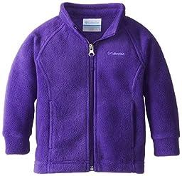 Columbia Baby Girls\' Benton Springs Fleece Jacket, Hyper Purple, 18/24 Months