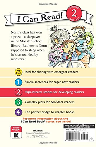 Monster School. The Spooky Sleepover (I Can Read. Level 2)