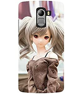 Evaluze attractive girl Printed Back Cover for LENOVO K4 NOTE
