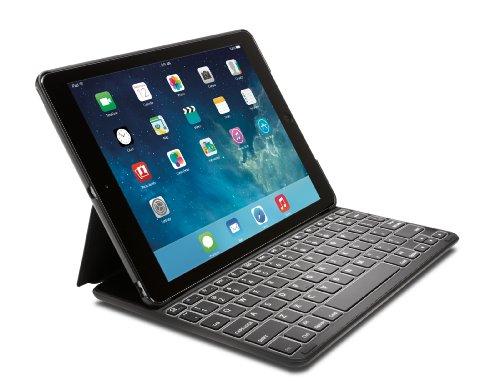 Kensington Keyfolio Thin X2 Plus Backlit Keyboard Case For Ipad Air (K97234Us)