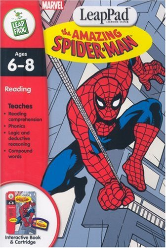 LeapPad Software -1ST GRADE: Spider-Man - Buy LeapPad Software -1ST GRADE: Spider-Man - Purchase LeapPad Software -1ST GRADE: Spider-Man (LeapFrog, Toys & Games,Categories,Electronics for Kids,Learning & Education,Toys)