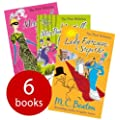 The Poor Relation Collection by M.C. Beaton. 6 Books (Sir Philips's Folly; Colonel Sandhurst to the Rescue; Back in Society; Lady Fortescue Steps Out; Mrs Budley Falls from Grace; Miss Tonks Turns to Crime). RRP �41.94