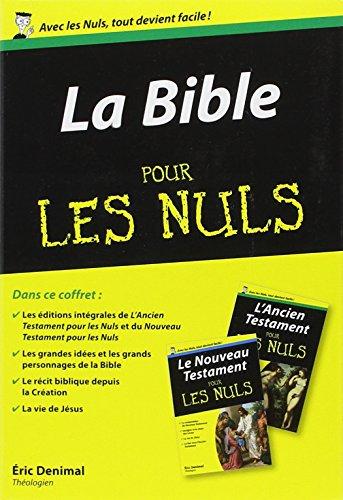 Coffret La Bible pour les Nuls