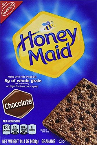Nabisco, Honey Maid, Graham Crackers, Chocolate, 14.4oz Box (Pack of 3) (Chocolate Graham Crackers compare prices)