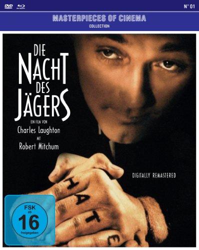 Die Nacht des Jägers - Masterpieces of Cinema Collection N° 01 (+ DVD) [Blu-ray]