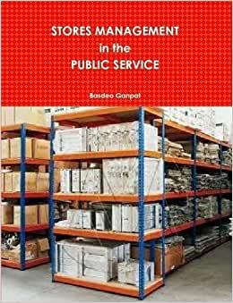 Stores Management In The Public Service - Pb
