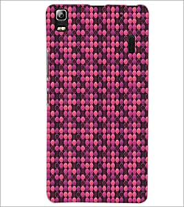 PrintDhaba Pattern D-5310 Back Case Cover for LENOVO A7000 PLUS (Multi-Coloured)